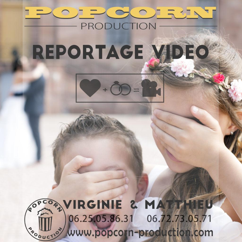 production vidéo de mariage